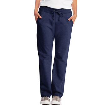 Hanes Womens French Terry Pocket Pant O4677