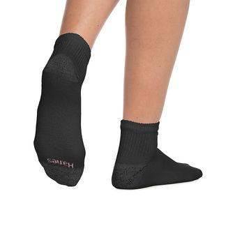 Hanes Women\'s ComfortBlend Ankle Socks 6-Pack