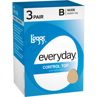 Leggs Everyday Control Top ST 3-Pk Pantyhose 39600