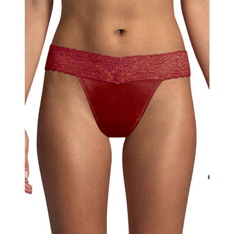 Maidenform Dream Thong with Lace 40156
