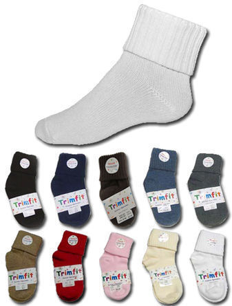 Trimfit Triple Roll Cotton Sock 1156-1256