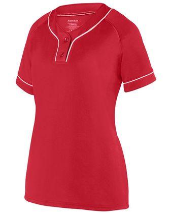 Augusta Sportswear Women\'s Overpower Two-Button Jersey 1670