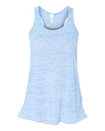 BELLA + CANVAS Women\'s Flowy Racerback Tank 8800