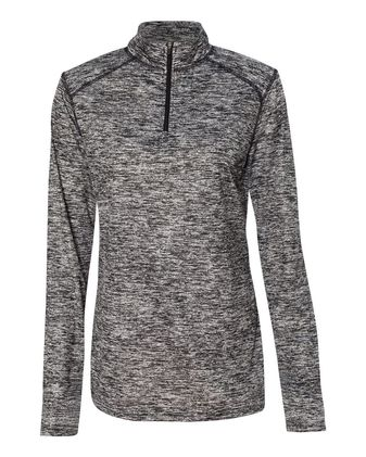 Badger Blend Women\'s Quarter-Zip Pullover 4193