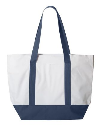 Liberty Bags Bay View Zippered Tote 7006