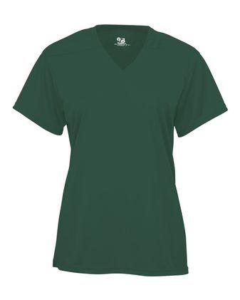Badger Youth B-Core V-Neck T-Shirt 2162
