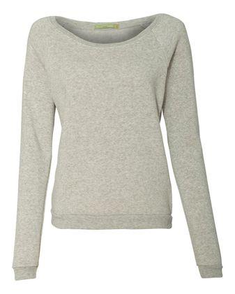Alternative Women\'s Eco-Fleece Dash Pullover 9597