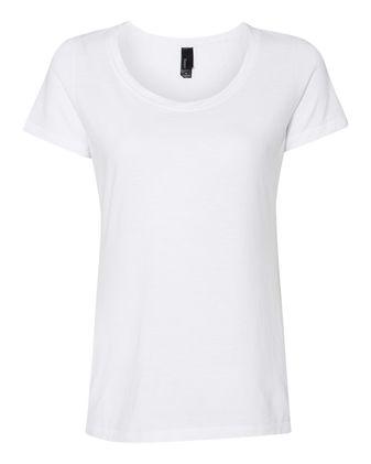 Hanes Women\'s Modal Triblend Short Sleeve T-Shirt MO150