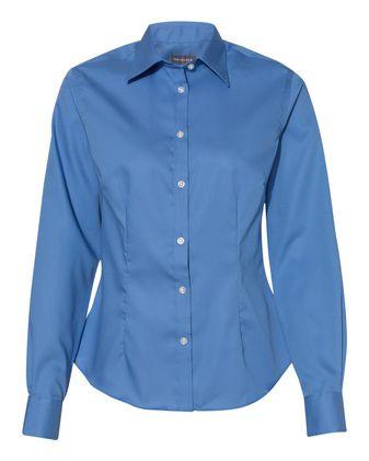 Van Heusen Women\'s Ultimate Shirt Non-Iron Shirt 13V0460