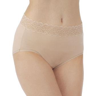 Vanity Fair Flattering Lace Brief Panty 13396