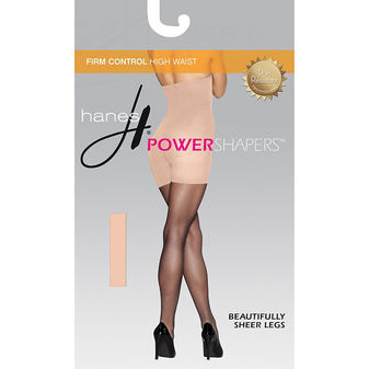 Hanes Womens Firm Control High Waist Power Shapers 0B988