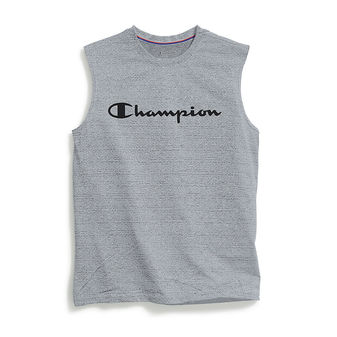 Champion Vapor Men s Graphic Muscle Tee, Champion Script