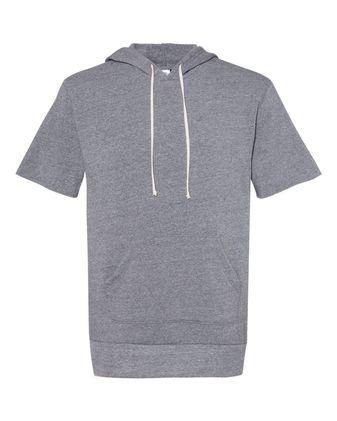 Alternative Eco-Fleece Baller Short Sleeve Hoodie 3501