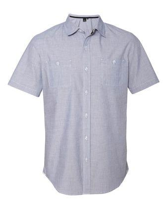 Burnside Mini-Check Short Sleeve Shirt 9257