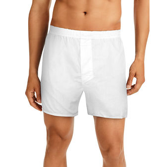 Hanes Men\'s TAGLESS® Full-Cut Boxer with Comfort Flex® Waistband 4-Pack HN110W4