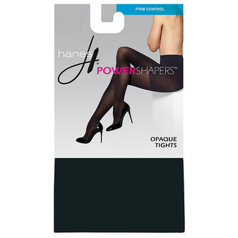 Hanes Women\'s Firm Control Power Shapers™ Opaque Tights 0B990