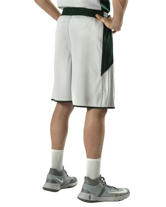 Alleson Athletic Single Ply Reversible Basketball Shorts A00148