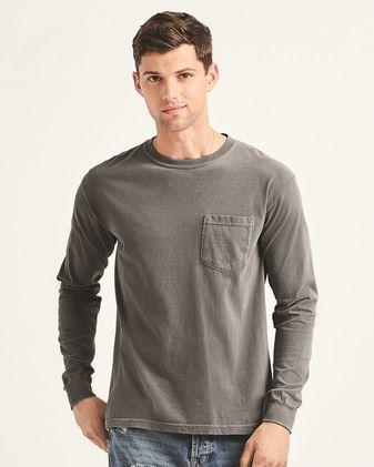 Comfort Colors Garment-Dyed Heavyweight Long Sleeve Pocket T-Shirt B087KLVYHZ 1PK 4410
