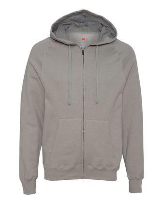 Hanes Nano Hooded Full-Zip Sweatshirt N280