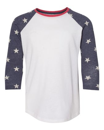 Alternative Youth Eco-Jersey Baseball Raglan Tee K2089