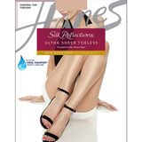 Hanes Silk Reflections Ultra Sheer Toeless Control Top Pantyhose 0B376
