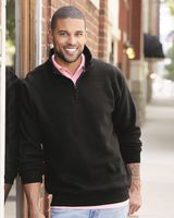 J. America Heavyweight Fleece Quarter-Zip Sweatshirt 8634