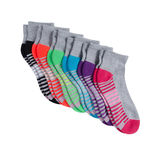 Hanes Sport Women's Cool Comfort Ankle Socks 6-Pack 4A3/6