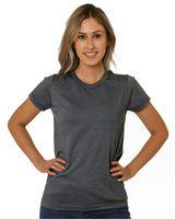 Bayside Women's USA-Made Triblend Short Sleeve T-Shirt 5810