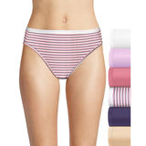 Hanes Women's Ultimate Cotton Comfort  Hi Cut 6-Pack 43HUC6