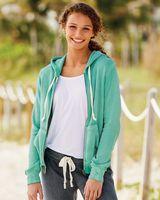 MV Sport Women's Angel Fleece Full-Zip Hooded Sweatshirt W2350