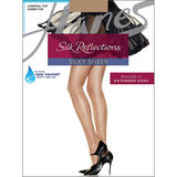 Hanes Silk Reflections Silky Control Top Sheer Toe 6-pack C60717