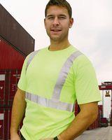 Bayside USA-Made 50/50 High Visibility Short Sleeve T-Shirt 3752