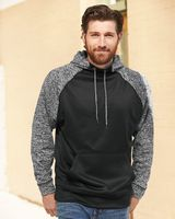 J. America Colorblocked Cosmic Fleece Hooded Sweatshirt 8612