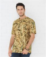 Code Five Camouflage Crew Neck T-Shirt 3968