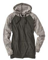 Burnside Yarn-Dyed Raglan Hooded Pullover 8127