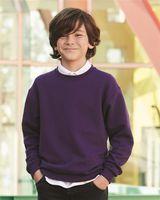 JERZEES NuBlend® Youth Crewneck Sweatshirt 562BR