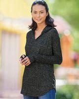 J. America Women's Cozy Jersey Hooded Sweatshirt 8655