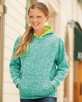 J. America Youth Cosmic Fleece Hooded Sweatshirt 8610