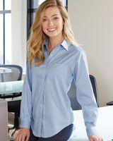 Van Heusen Women's Pinpoint Oxford Shirt 13V0110