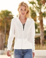 Independent Trading Co. Women's Poly-Tech Full-Zip Track Jacket EXP60PAZ