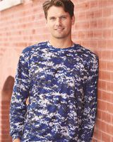 Badger Digital Camo Long Sleeve T-Shirt 4184