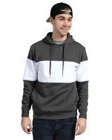 Holloway Ivy League Fleece Colorblocked Hooded Sweatshirt 229563