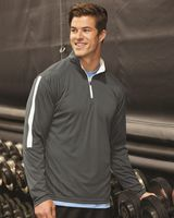 Badger Sideline Quarter-Zip Pullover 4106