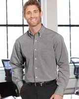 Van Heusen Yarn Dyed Mini Check Long Sleeve Shirt 13V0426