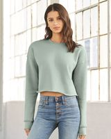 BELLA + CANVAS Women's Cropped Crew Fleece 7503