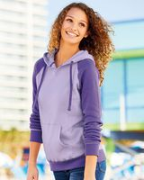 MV Sport Women's Harper Raglan Hooded Sweatshirt W17127