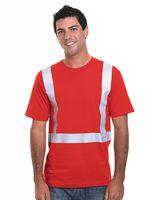 Bayside USA-Made Hi-Visibility Performance T-Shirt 3755