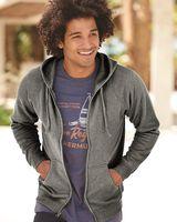 Independent Trading Co. Unisex Special Blend Raglan Full-Zip Hooded Sweatshirt PRM33SBZ