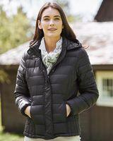 Weatherproof Women's 32 Degrees Hooded Packable Down Jacket 17602W