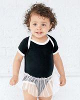 Rabbit Skins Infant Tutu Baby Rib Bodysuit 4422